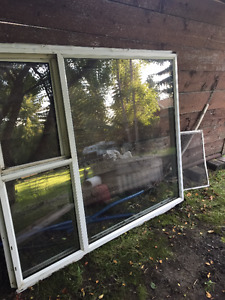 Vinyl double pane window for your house or cabin projects