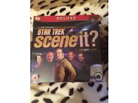 Star Trek scene it? DVD game. New.