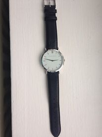 Larsson and Jennings Handmade- sterling silver encrusted watch