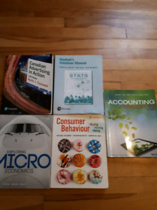 MSVU books, great for nscc transfers students!