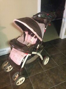 Stroller Graco Pink and Brown