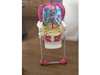 Chicco Polly 2 - 1 Highchair