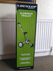 Dunlop, aluminium sport trolly, brand new