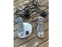 BT twin landline phones