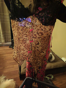 2 large and 1 one size fits all lingerie 10$ each all brand new