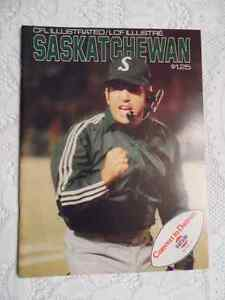 1974 SASKATCHEWAN ROUGHRIDERS PROGRAM Cambridge Kitchener Area image 1