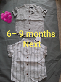 Boys shirt 6/9 months next