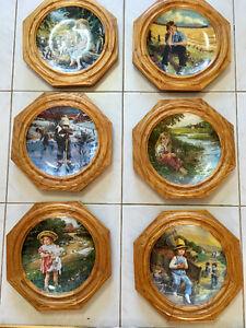 Bradford Exchange Collector Plates, 6 in Series