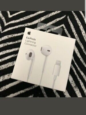 Apple EarPods Lightning 100% Original Headphones iPhone 7 8 Plus XR XS Max New