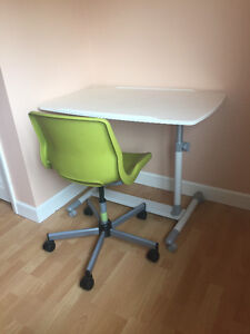 Adjustable Drafting/Computer Desk and Chair