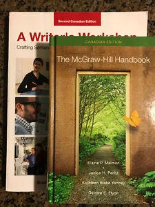 A Writer's Workshop & The McGraw-Hill Handbook/PRE HEALTH BOOKS