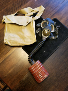 Gas mask from WW2