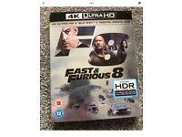 Fast & Furious 8 4K HDR Blu Ray