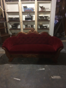 Antique - Sofa and  Chair