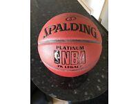 Spalding indoor basketball