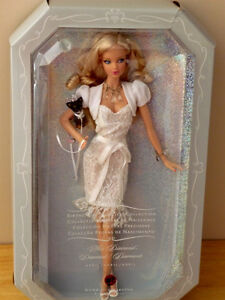 Miss Diamond Barbie..Pink Label Collection Series.NEW.NOT opened Cambridge Kitchener Area image 1