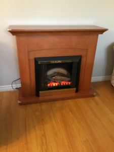 Electric Fire Place in Good Condition