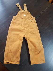 Size 2T Boys Clothes, Including Carhartt Overalls