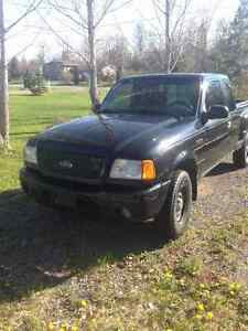 2002 Ford Ranger Parts truck