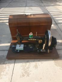 Titan antique sewing machine