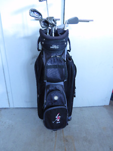 Ladies Right Handed Ping Serene 6 Golf Club Set With Bag