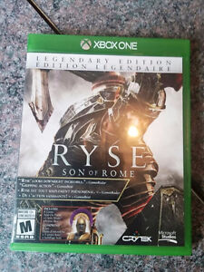 selling xbox one game - Ryse Son of Rome
