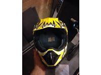 Motocross helmet size large