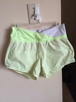 Lululemon size 4 shorts with built in panty