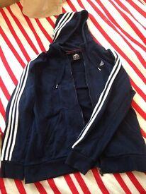 Adidas hoodie blue navy
