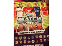Match Attax Trading Cards 2016/17
