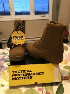 "Classic 9"" Swat Boots in Coyote colour"