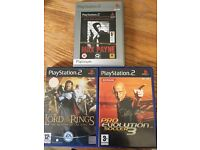 PlayStation 2 games X 3