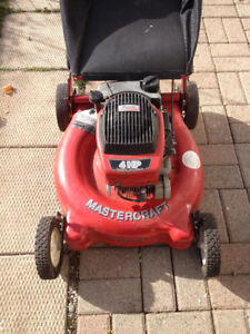 mastercraft 4HP lawnmower for parts or handyman for sale #23434