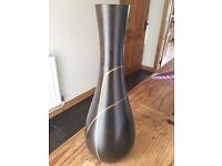 Creations Tall Wooden Vase