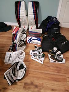 Pro Goalie gear for sale