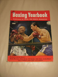 Boxing Yearbook 1953 - Marciano vs Walcott, Chuck Davey, Kid Gal