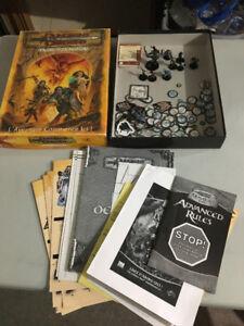 dungeons dragons le jeu d'aventures vintage 2001 société