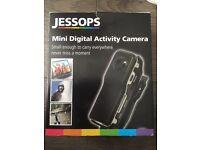 Mini digital activity camera