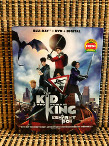 The Kid Who Would Be King (2-Disc Blu-ray/DVD, 2019)+Slipcover.P