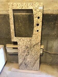 Comptoir de lavabo en granit