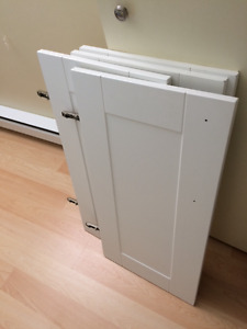 Portes armoire (shaker) blanc. Doors for shaker Kitchen cabinet