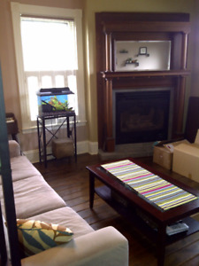 Bright and sunny two-bedroom flat in downtown Dartmouth