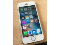 Apple iphone 5s 16gb white silver O2 giffgaff
