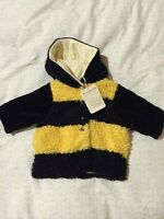 Anne Geddes (new with tags) plush jacket