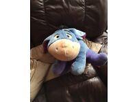 Disney Eeyore from Winnie the Pooh Soft Toy cuddly teddy, Disney, measures 27.5 cms high