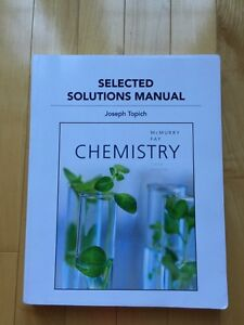 Chemistry Selected Solutions Manual 6th edition UofT