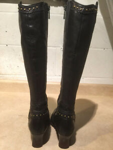 Women's Tall Leather Heels Size 6 London Ontario image 3