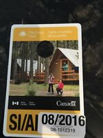 National Banff Park Pass SI August 2016 unsigned
