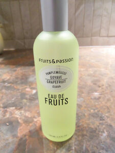 EAU DE FRUITS NEUVE **FRUITS & PASSION**