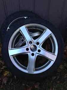 New BMW Snow Tire Set Kitchener / Waterloo Kitchener Area image 2